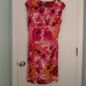 Lauren Ralph Lauren Floral Sleeveless Party Dress